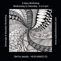 Zentangle and Mandala Workshop